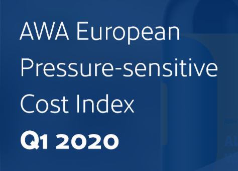 AWA European Pressure-sensitive Cost Index – Q1 2020